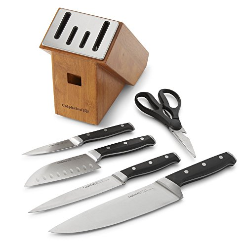 Calphalon-Classic-Self-Sharpening-Cutlery-Knife-Block-Set-with-SharpIN-Technology-0