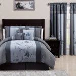 Chezmoi-Collection-7-Piece-Embroidered-Floral-Bed-in-a-Bag-Comforter-Set-Queen-Gray-Blue-0