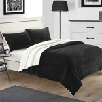 Chic-Home-Evie-3-piece-Plush-Microsuede-Sherpa-Blanket-Pillow-Shams-Included-0