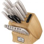 Chicago-Cutlery-18-Piece-Insignia-Steel-Knife-Set-with-Block-and-In-Block-Sharpener-0