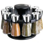 Cole-Mason-Herb-and-Spice-Carousel-Rack-with-Jars-and-Spices-0