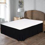 Comfort-Beddings-800-TC-Bedskirt-18-Drop-length-100-Egyptian-Cotton-Solid-0