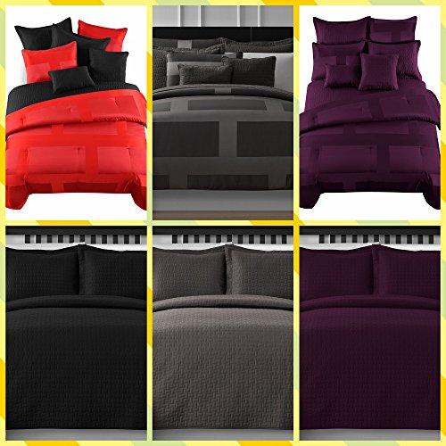 Comfy-Bedding-Frame-Jacquard-Microfiber-5-Piece-Comforter-Set-0-1