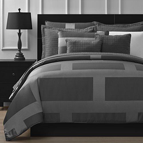 Comfy-Bedding-Frame-Jacquard-Microfiber-5-Piece-Comforter-Set-0