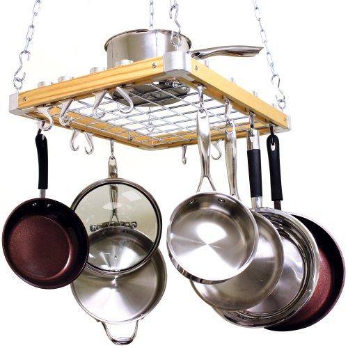 Cooks-Standard-Ceiling-Mount-Wooden-Pot-Rack-0-0