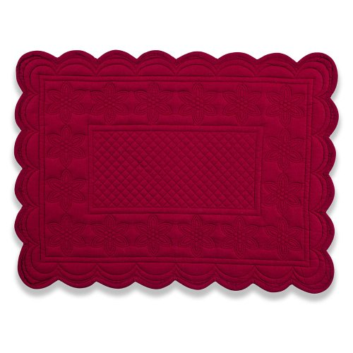 Couleur-Nature-Sonia-Burgundy-Mat-14-Inch-by-19-Inch-0