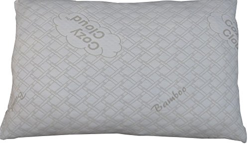 CozyCloud-Bamboo-Shredded-Memory-Foam-Pillow-All-USA-Made-Materials-and-Labor-For-Top-Quality-100-Satisfaction-Guarantee-Cozy-Like-Down-With-Support-That-Never-Goes-Flat-0