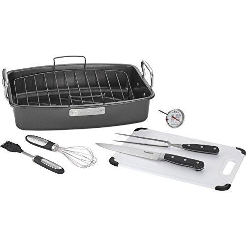 Cuisinart-8-piece-Ovenware-Nonstick-Roasting-Set-Steel-0