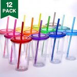 Cupture-Classic-Insulated-Double-Wall-Tumbler-Cup-with-Lid-Reusable-Straw-16-oz-12-Pack-0