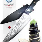 DALSTRONG-Chefs-Knife-Shogun-Series-X-Gyuto-VG10-Hammered-Finish-8-w-Chef-Knife-Sheath-0