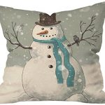 DENY-Designs-Terry-Fan-Snowman-Throw-Pillow-20-x-20-0