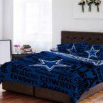 Dallas-Cowboys-NFL-Queen-Comforter-Sheet-Set-5-Piece-Bedding-0