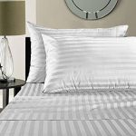 Damask-Stripe-100-Supima-Cotton-500-Thread-Count-Hotel-Quality-Supima-Luxury-Cotton-Sateen-Deep-Pocket-Super-Soft-Sheet-Set-0