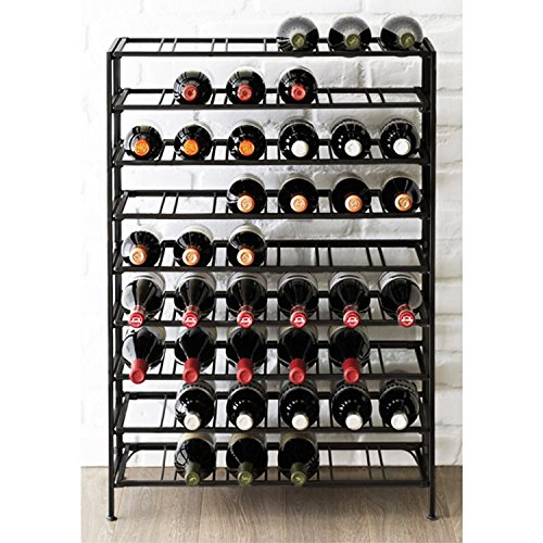 Deluxe-54-Bottle-Large-Foldable-Metal-9-Tier-Wine-Connoisseur-Rack-Cellar-Storage-Display-Stand-0