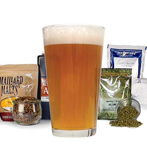 Deluxe-Home-Brewing-Equipment-Starter-Kit-Glass-Carboys-with-Chinook-IPA-Beer-Recipe-Kit-0-0