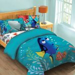 Disney-Finding-Dory-Fish-Finder-Twin-Comforter-Set-wFitted-Sheet-0