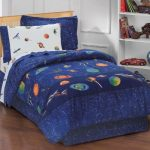 Dream-Factory-Outer-Space-Satellites-Boys-Comforter-Set-Blue-Twin-0