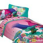 Dreamworks-ML7388-Trolls-Life-Comforter-Trolls-Life-Reversible-TwinFull-Comforter-0-0