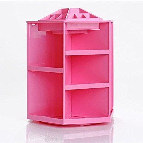 ECVISION-ECVISION-Big-Capacity-Rotating-Acrylic-Cosmeticrevolving-makeup-organizerCosmetics-Storage-0-1