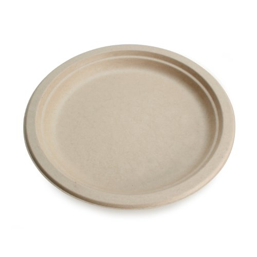 Earths-Natural-Alternative-Wheat-Straw-Fiber-Bagasse-Sugarcane-Tree-Free-9-Round-Plate-500Case-0