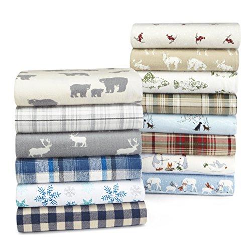 Eddie-Bauer-Bear-Family-Flannel-Sheet-Set-0-0