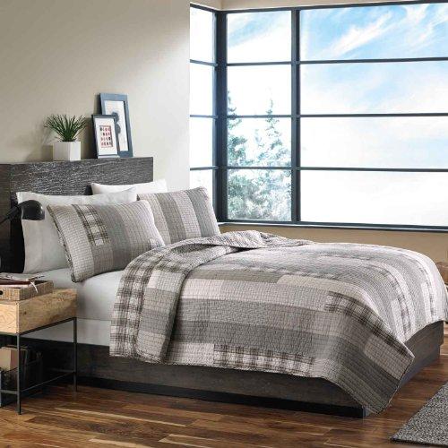 Eddie-Bauer-Fairview-3-Piece-Cotton-Reversible-Quilt-Set-King-0