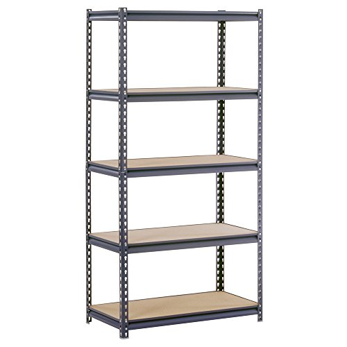 Edsal-Steel-Industrial-Shelving-5-Adjustable-Shelves-4000-lb-Capacity-0