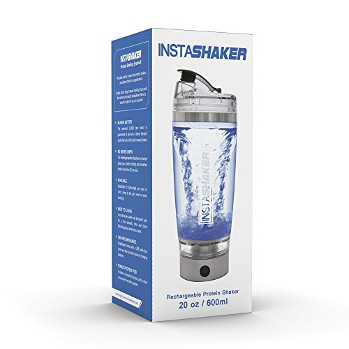 Electric-Protein-Shaker-Bottle-Blender-Bottle-20-oz-600-ml-USB-Rechargeable-Vortex-Mixer-Cup-with-Bonus-Powder-Storage-Compartment-and-Gift-Box-0-1