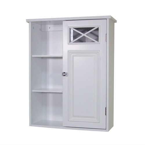 Elegant-Home-Fashions-Dawson-Collection-Shelved-Wall-Cabinet-with-Storage-Cubbies-White-0