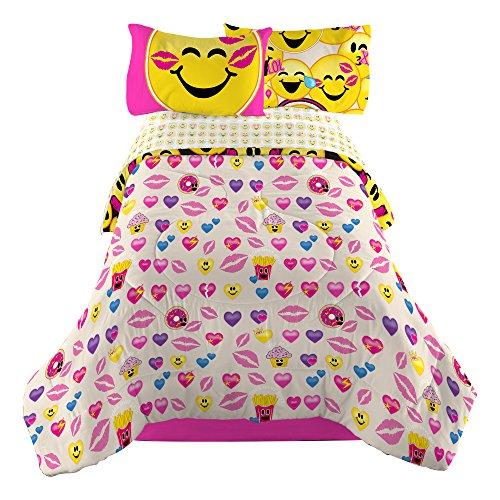 Emojination-MJ6438-Happy-Happy-Reversible-Comforter-Twin-0-0