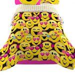 Emojination-MJ6438-Happy-Happy-Reversible-Comforter-Twin-0