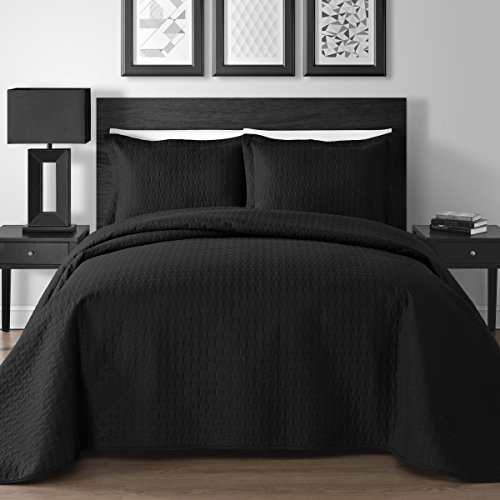 Extra-Lightweight-3-Piece-King-Queen-Modern-Wireless-Thermal-Pressing-Coverlet-0