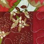 Fancy-Collection-3pc-Bedspread-Bed-Cover-Floral-Beige-Red-Green-Brown-Burgundy-New-0-1