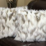 Faux-Fur-Pillow-Cover-Tibetan-Sand-Fox-Ivory-Beige-18-X18-in-Set-of-2-0