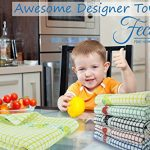 Fecido-Fruity-Collection-Kitchen-Dish-Towels-Heavy-Duty-Dish-Towels-Super-Absorbent-Tea-Towels-100-Cotton-Kitchen-Towels-With-Fruit-Design-0-0