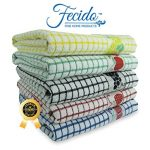 Fecido-Fruity-Collection-Kitchen-Dish-Towels-Heavy-Duty-Dish-Towels-Super-Absorbent-Tea-Towels-100-Cotton-Kitchen-Towels-With-Fruit-Design-0