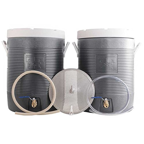 Fermenters-Favorites-Essential-All-Grain-Brewing-Starter-Kit-10-Gallon-Mash-Tun-and-Hot-Liquor-Tank-HLT-0