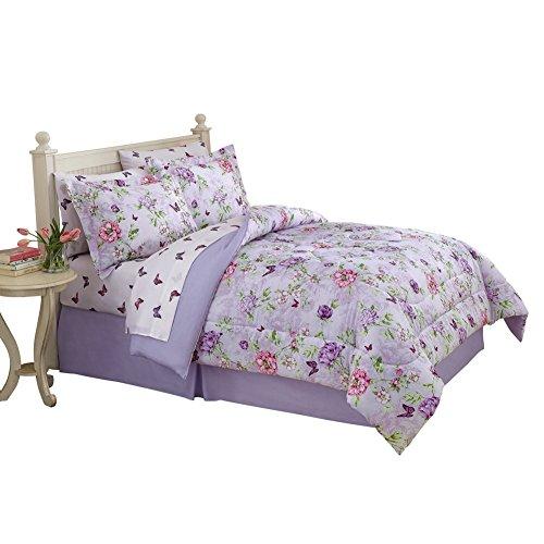 Floral-Butterfly-Garden-Comforter-Set-0