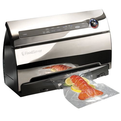FoodSaver-v3860-Automatic-2-Speed-Vacuum-Sealer-with-Roll-Storage-and-Cutter-includes-Starter-Kit-of-Premium-BagsRolls-0