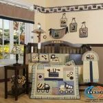 GEENNY-Boutique-13-Piece-Crib-Bedding-Set-Baby-Boy-Constructor-0