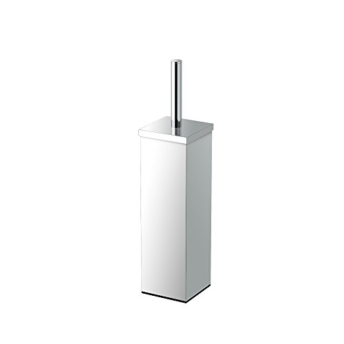 Gatco-1488-Elegant-Square-Toilet-Brush-Holder-Chrome-0