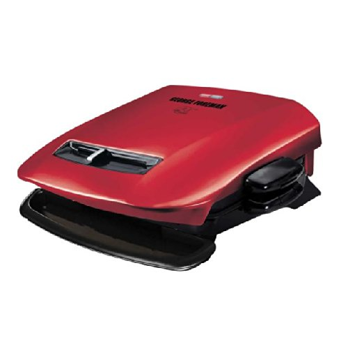 George-Foreman-GRP2841R-5-Serving-Removable-Plate-Grill-with-Variable-Temperature-Red-0