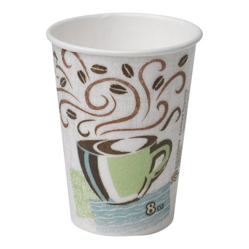 Georgia-Pacific-Dixie-PerfecTouch-5338CD-Coffee-Design-Insulated-Paper-Hot-Cup-8oz-Case-of-20-Sleeves-50-Cups-per-Sleeve-0