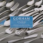 Gorham-Studio-Stainless-45-Piece-Set-service-for-8-5-Serving-Pieces-0-0