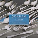 Gorham-Studio-Stainless-45-Piece-Set-service-for-8-5-Serving-Pieces-0-0
