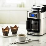 Gourmia-GCM4500-Coffee-Maker-With-Built-In-Grinder-Programmable-10-Cup-Automatic-Drip-Glass-Carafe-LED-Display-0-0