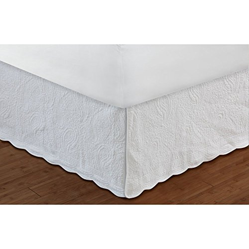 Greenland-Home-Fashions-Paisley-Quilted-White-Bedskirt-0