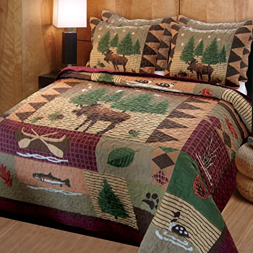 Greenland-Home-Moose-Lodge-Quilt-Set-0