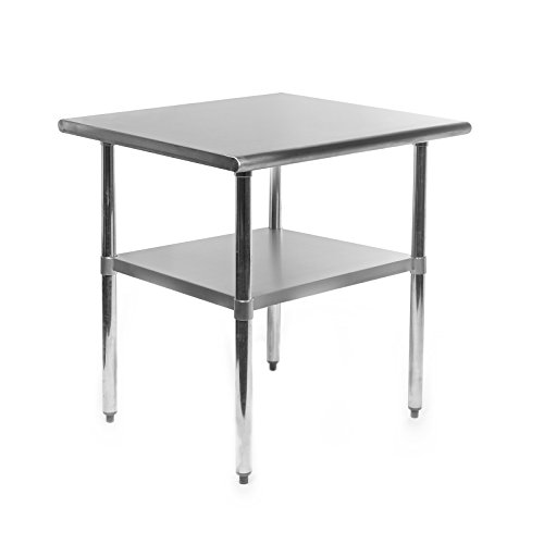 Gridmann-NSF-Stainless-Steel-Commercial-Kitchen-Prep-Work-Table-30-in-x-24-in-0