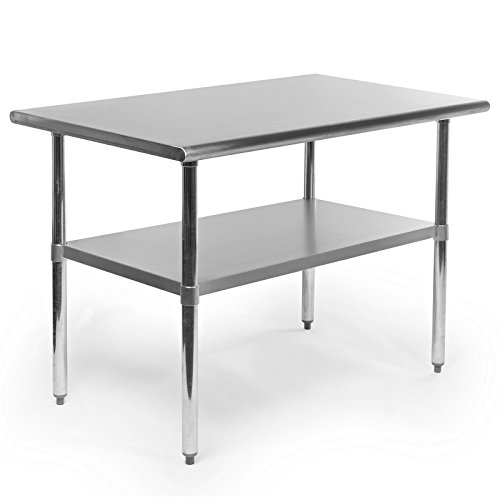 Gridmann-NSF-Stainless-Steel-Commercial-Kitchen-Prep-Work-Table-48-in-x-30-in-0